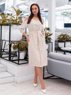 Сукня бежева | 5379593