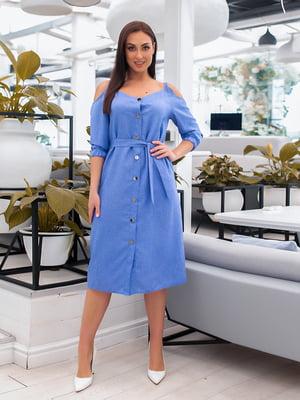 Сукня блакитна | 5379594