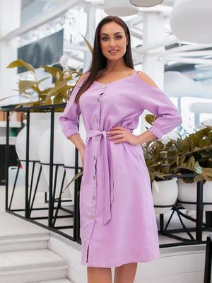 Сукня бузкового кольору | 5379596