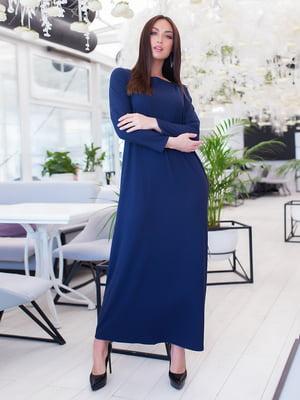 Сукня темно-синя | 5379612