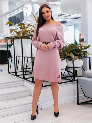 Сукня пудрового кольору | 5379615
