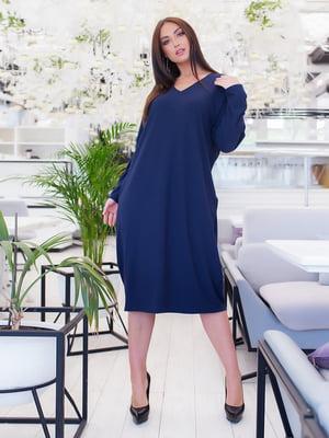 Сукня темно-синя | 5379629
