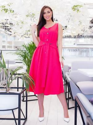 Сукня малинового кольору | 5423682