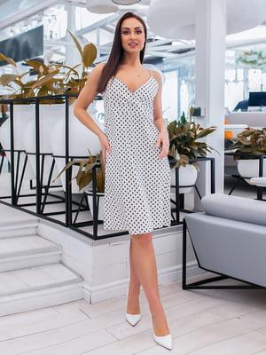 Сорочка нічна біла з принтом   5423699