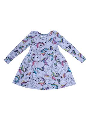 Платье с принтом | 5419154