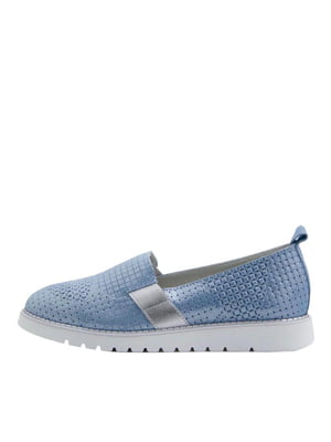 Слипоны голубые | 5425778