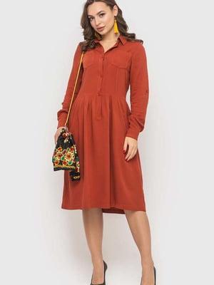 Сукня кольору охри   5426804