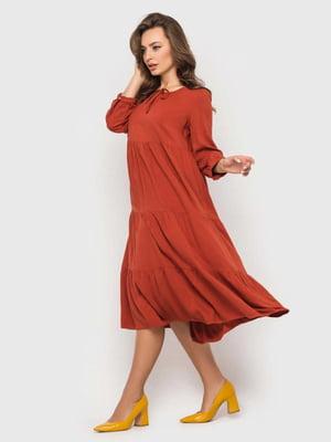 Сукня кольору охри   5426812