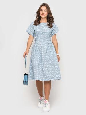 Сукня в принт   5426826