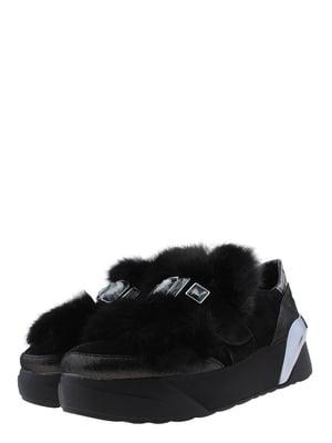 Кроссовки черно-никелевого цвета | 5422563