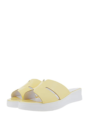 Шлепанцы желтые | 5425293