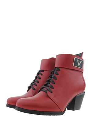Ботинки красные | 5425359