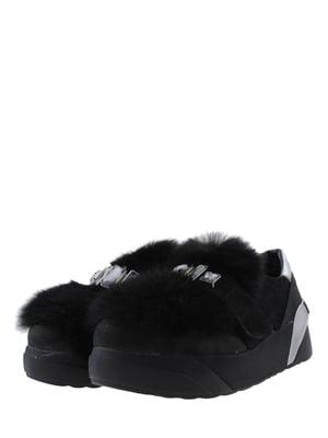 Кроссовки черно-серебристые | 5427259