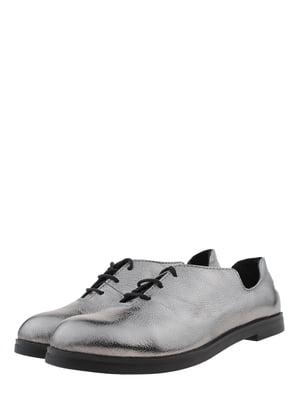Туфли цвета никеля | 5427262