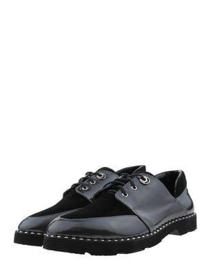 Туфли графитово-черные | 5427267