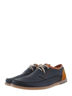 Туфли черно-коричневые | 5422034