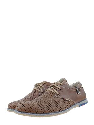 Туфли коричневые | 5422038