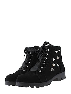 Ботинки черные   5425185