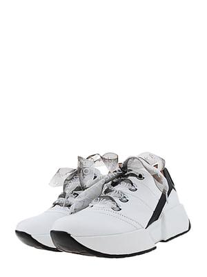 Кроссовки бело-черные | 5425191
