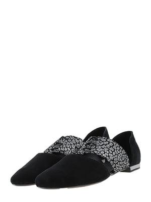 Туфлі чорно-нікелевого кольору   5425206