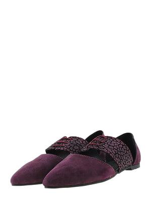 Туфли сливового цвета | 5425207