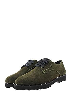 Туфлі зелені | 5425217