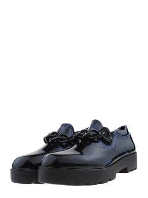 Туфлі синьо-чорні | 5425229