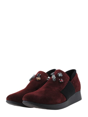 Туфлі бордові | 5425246