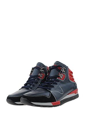 Ботинки сине-красные | 5427152