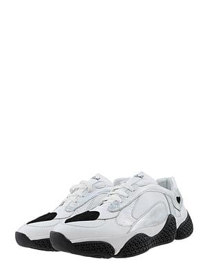 Кросівки біло-сріблясті | 5427179