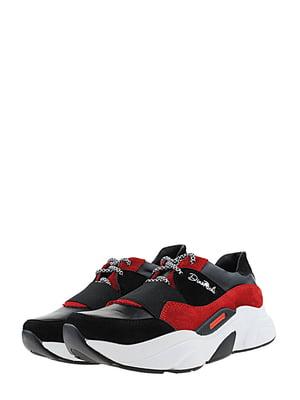 Кросівки чорно-червоні | 5427180