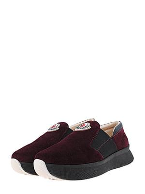 Туфлі кольору марсала | 5427195