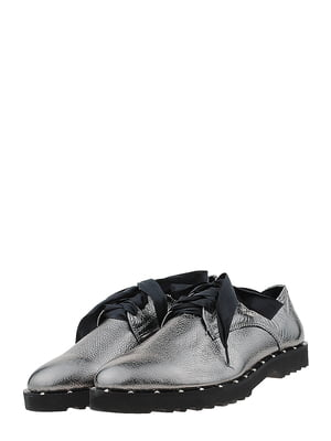 Туфлі кольору нікелю | 5427215