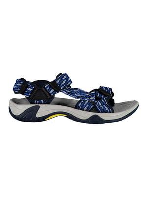 Сандалии синие | 5397905