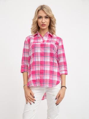Блуза клетчатая | 5426842