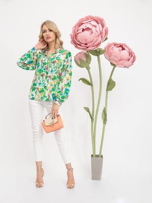 Блуза в цветочный принт | 5426844