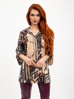 Блуза анималистической расцветки   5426854
