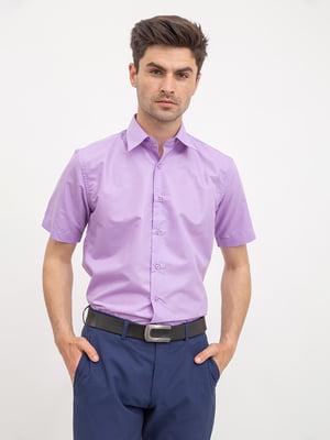 Рубашка сиреневая | 5426965