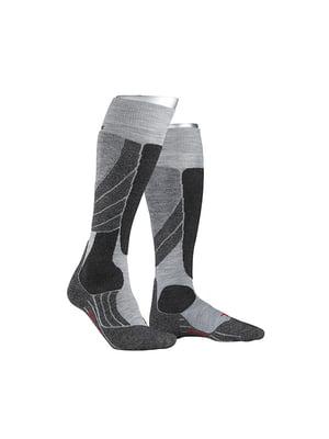 Шкарпетки лижні сірі | 5260353