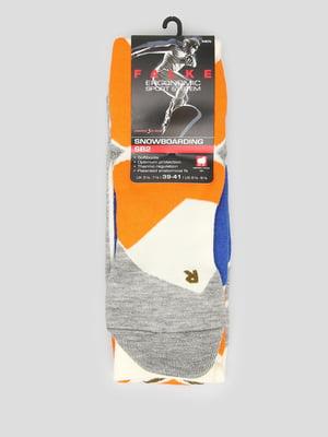 Шкарпетки лижні різнокольорові | 5260389