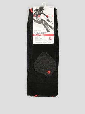 Носки лыжные черные | 5260415