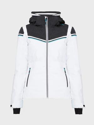 Куртка лыжная белая | 5264462