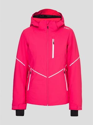 Куртка лыжная малиновая | 5397937