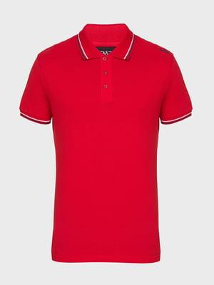 Футболка-поло красная | 5397964