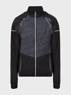 Куртка черно-серая   5398787