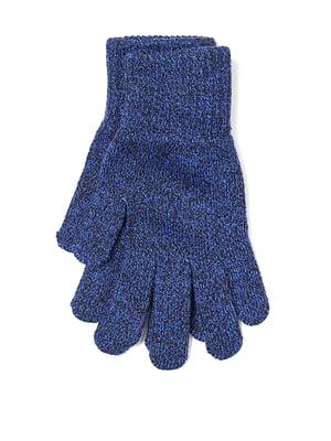 Перчатки синие   5428626