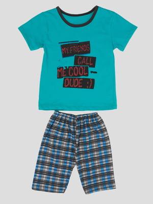 Костюм: футболка и шорты   5427523