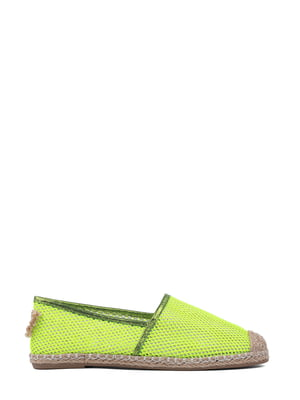 Эспадрильи салатового цвета | 5429211