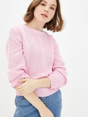Джемпер розовый | 5430353