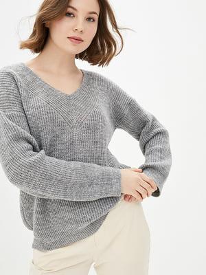 Пуловер сірий | 5430360